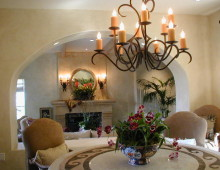 New Spanish Colonial Dining Room