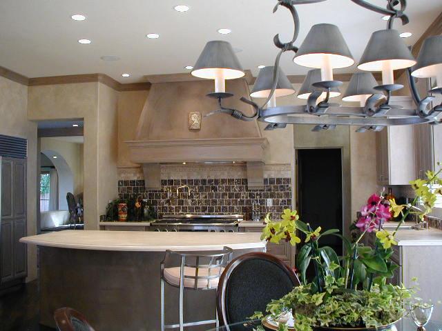 interior Spanish colonial kitchen