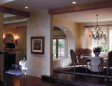 New Spanish Colonial Interior