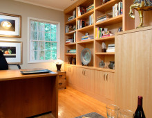 Bungalow Remodel and Interior Design Bookshelves