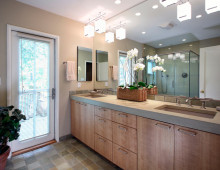 Bungalow Remodel and Interior Design Bathroom